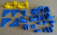 Пластиковые детали для Wanhao Duplicator I3
